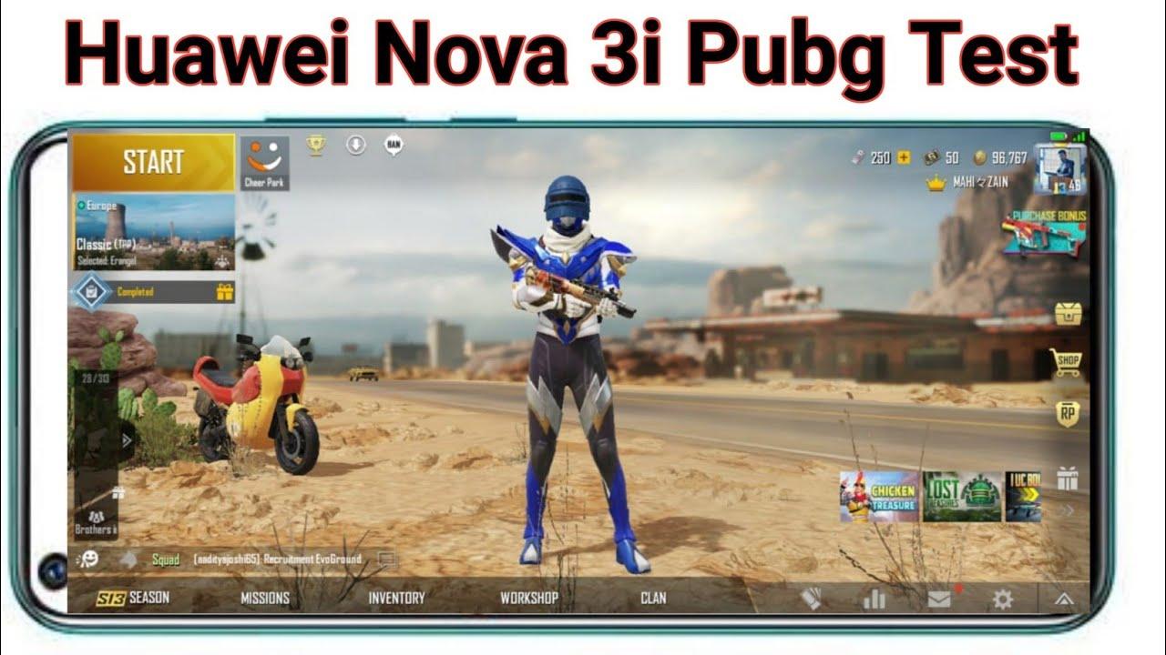 Huawei Nova 3i Mobile Pubg Test Pubg Test Any Mobile Pubg Game Play Huawei Nova 3i Youtube