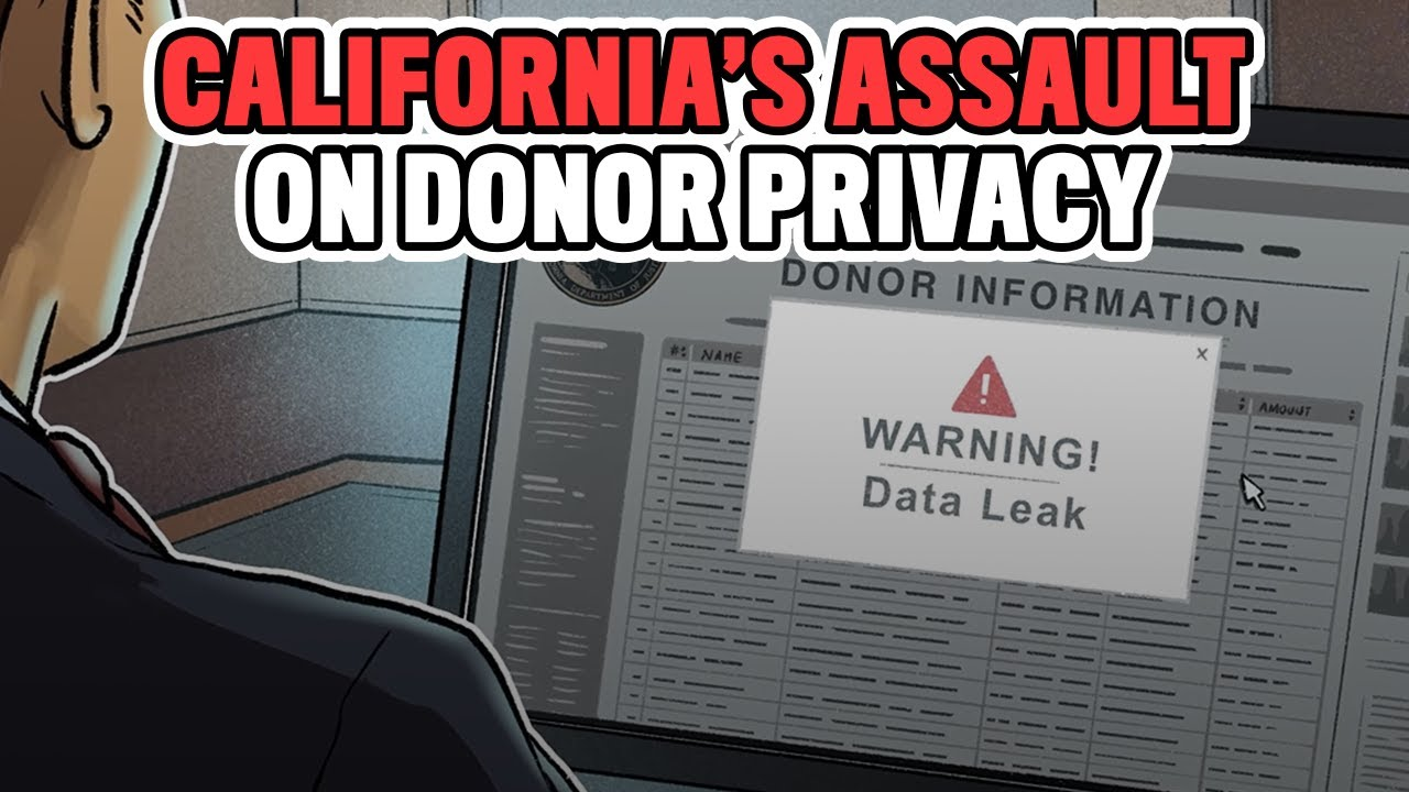 California Demanding Information from Nonprofits Could Endanger Donors