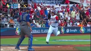 Puerto Rico vs Italy: 2017 World Baseball Classic