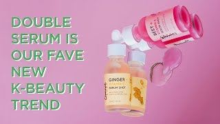 The K-Beauty Guide to Double Serum   GLOW RECIPE