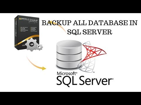 How to Easily Backup all database in SQL server using Query ... Db Backup Wiringdiagram Sql on