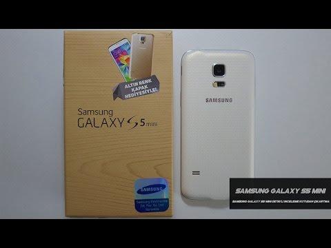 Samsung Galaxy S5 Mini Detaylı İnceleme Kutudan Çıkartma