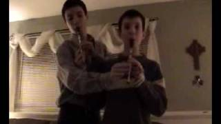 Jesuit Trained: The Tin Whistle Duet