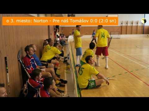 Florbal zápasy o medaily 7 5 17