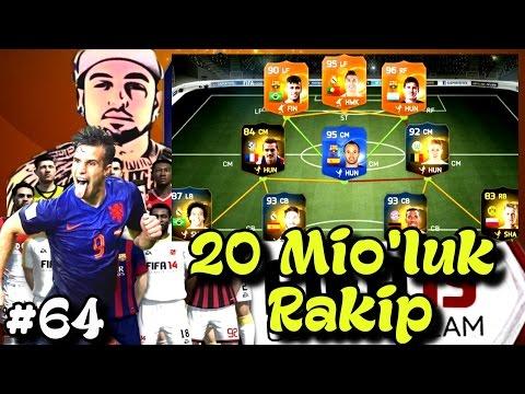 Fifa 15 Ultimate Team   20M lik Takim, birakin gelsin   64.bölüm   Türkçe oynanış   Ps4