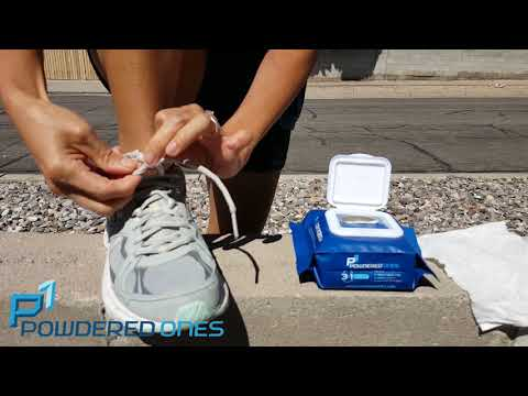 Powdered Ones No More Stinky Shoes and Smelly Feet Demo