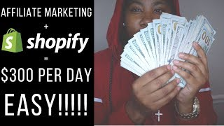 Make $300 Per Day FAST with Shopify | NOT DROPSHIPPING!!