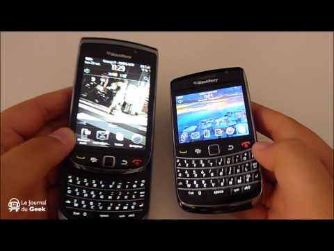 Test RIM BlackBerry Torch 9800