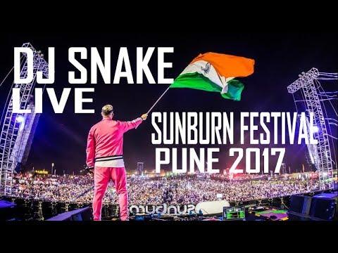 DJ Snake Live @ Sunburn Festival 2017 Pune India