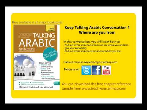 9781444185133 Keep Talking Arabic - Where are you from