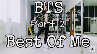 Bts - Best Of Me Part 2  Dance Cover Tutorial by July Dance