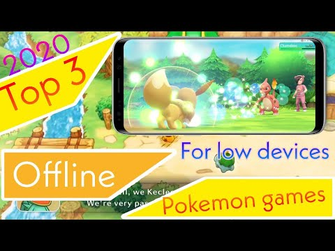 Top 3 Offline Pokemon Games For Android 2020 | Top Pokemon Offine Games