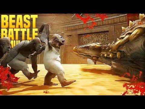 ANKYLOSAURUS BASHES HEADS | Beast Battle Simulator [#2]