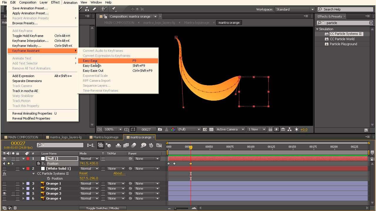 After Effects Top Tip: Making a Particle Producer Follow a Path