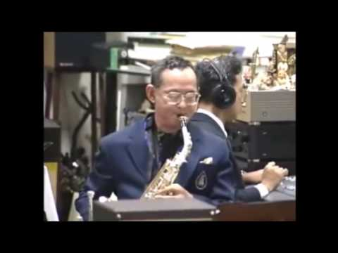 "King bhumibol adulyadej saxophone  "" How high the moon? """