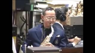 """King bhumibol adulyadej saxophone  """" How high the moon? """""""