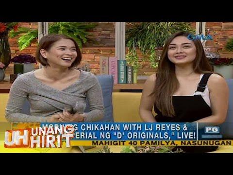 Unang Hirit: LJ Reyes and Meg Imperial of 'D' Originals', live sa 'UH`!'