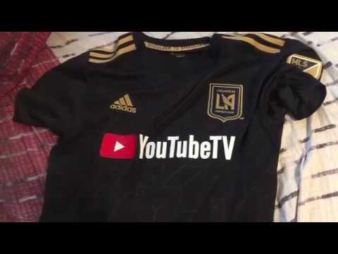 LAFC replicate home kit opening - YouTube baca48e4e