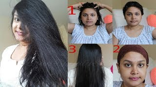 HAIR SPA | HOW To Do HAIR SPA At Home In HINDI | Get LONG HEALTHY SILKY Hair | HOMEREMEDY | HairCare