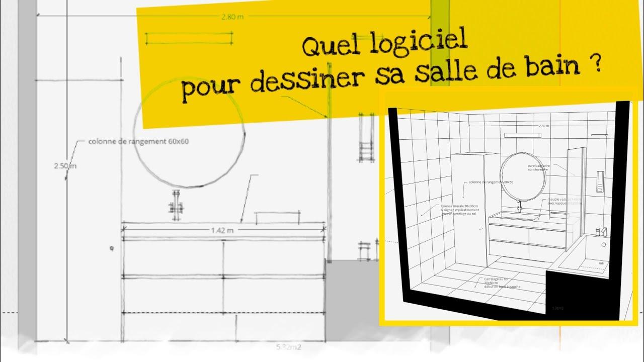 Dessin Salle De Bain quel logiciel salle de bain 3d gratuit en ligne ?