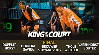 FULL Final | Beach Volleyball | King of the Court Utrecht 2018