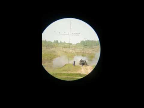 2с1 стреляет взгляд через буссоль (паб-2м)