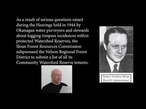 Legal Logging Moratorium History And Government Secrets In The Peachland Community Watershed