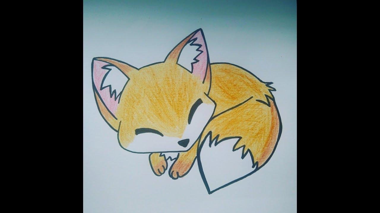 Dibujo Zorrito Fácil / Easy Fox Drawing