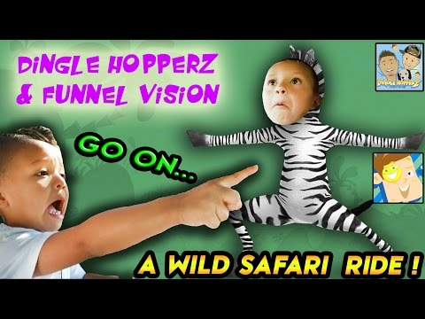 Thumbnail: OUTDOOR ADVENTURE W/ FUNNEL VISION! EMU DOES SCARY MAGIC ON UNCLE CRUSHER?! |DINGLE HOPPERZ VLOG