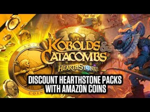 Promo Amazon Coins Hearthstone