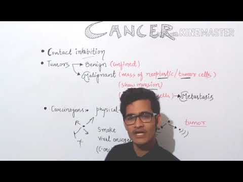 Cancer - type of tumors and various carcinogens.