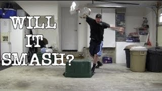 WILL IT SMASH? (L.A. BEAST sees if his mom