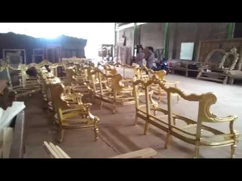 Louis XVI Baroque Royale Sofa Frames @ Factory 04 05 2015