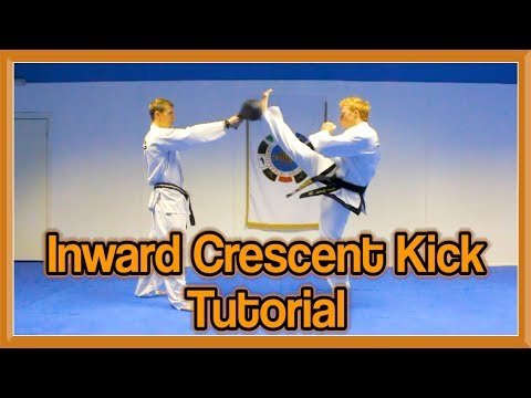 Taekwondo Inward Crescent Kick Tutorial | GNT How to