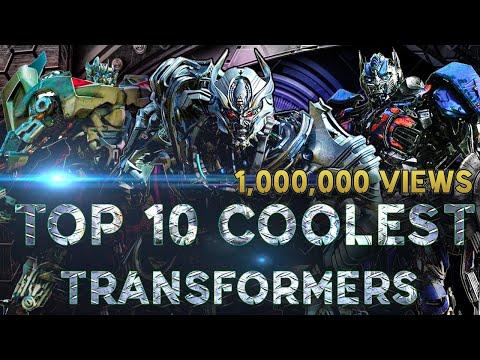 10อันดับ หุ่นทรานเฟอร์เมอร์ โคตรเท่ Top 10 coolest transformers