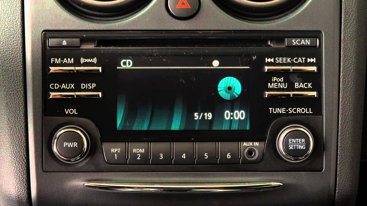 2014 nissan rogue select audio system [ 1280 x 720 Pixel ]