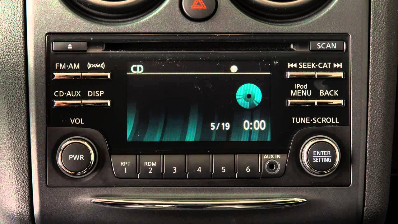 medium resolution of 2014 nissan rogue select audio system