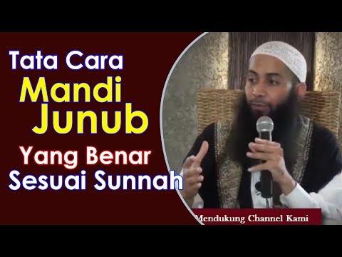 [LUCU] Tata Cara Mandi Junub Yang Benar Sesuai Sunnah - Ust Syafiq Riza Basalamah