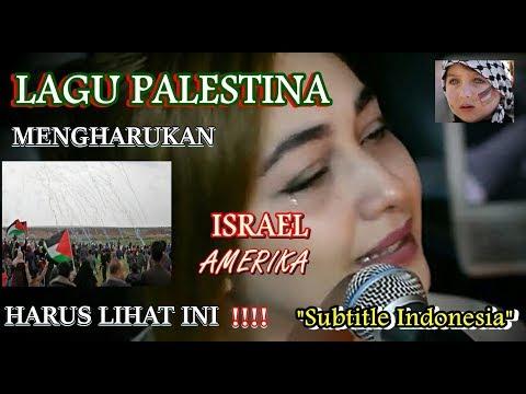 Lagu Sedih Palestina ~ Najwa Farouk Matat Qoloub Nass Subtitle Indonesia
