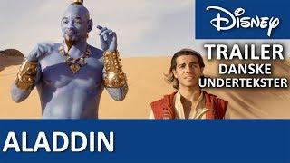 ALADDIN | Trailer - Danske undertekster | Disney Danmark