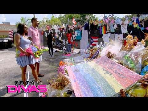 Naomi visits the site of the PULSE nightclub shooting: Total Divas Preview Clip, Nov. 23, 2016
