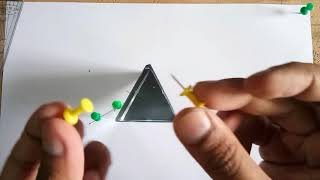 Refraction Through Prism &  Finidng Angle of Deviation Experiment thumbnail