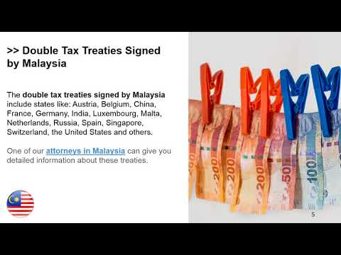 Double Taxation Treaties In Malaysia