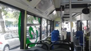 Balade à bord du HeuliezBus GX317GNV n°601 du réseau QUB