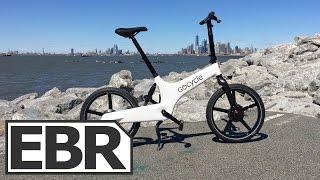 Gocycle G3 Video Review - High-Tech Folding Electric Bike