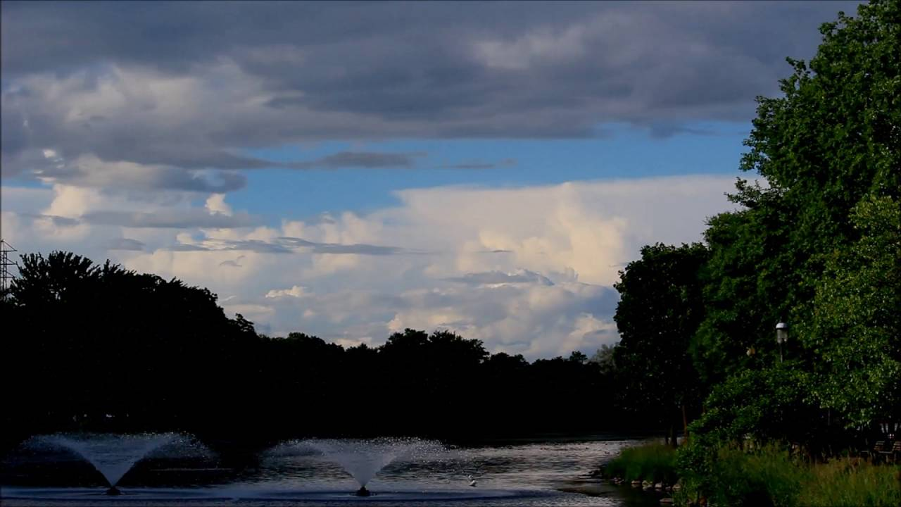 Clouds Over Frame Park | Waukesha, WI - YouTube