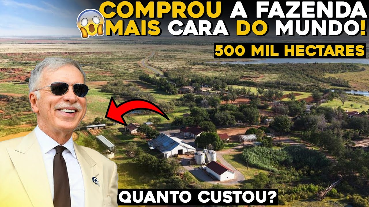FAZENDA MAIS CARA JÁ VENDIDA NO BRASIL! - Fazendeiros Bilionários!