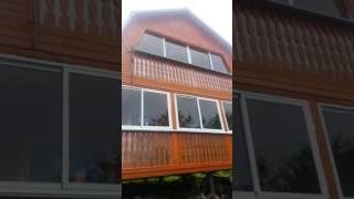 видео Остекление дачи
