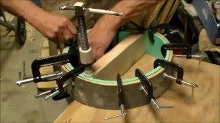 Steam Bending Native American Hand Drum Hoop