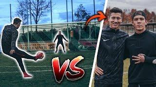 Fußballchallenge GEGEN LEWANDOWSKI (ft.  Cubanito)
